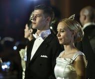 balowa Bucharest tana para Vienna Obrazy Stock
