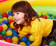 balowa urodzinowa dziecka koloru dziewczyny grupa obraz royalty free