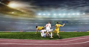 balowego pola stadium piłkarski Zdjęcie Royalty Free