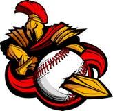 balowej baseballa ciała maskotki balowy kordzik Fotografia Stock