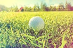 balowej gry golfowego gracza strajki zdjęcia royalty free