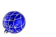 balowi błękitny boże narodzenia fotografia royalty free