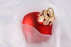 balowi boże narodzenia jeden czerwień Zdjęcie Royalty Free