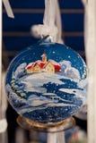 Balowi dekorujący boże narodzenia Fotografia Royalty Free