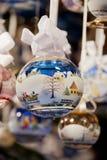 Balowi dekorujący boże narodzenia Obrazy Stock