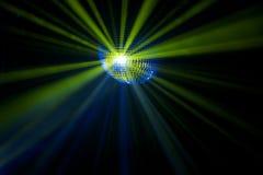 balowi dyskoteki mgiełki promienie Obrazy Royalty Free