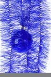 balowy błękitny nowy rok Obraz Royalty Free