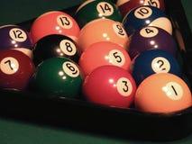 balowy bilardowy billiards kija stół Obraz Royalty Free