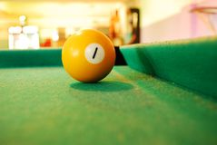 balowy billiard Obrazy Royalty Free