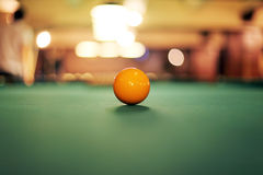 balowy billiard Obrazy Stock