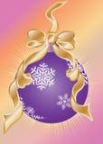 balowy bożych narodzeń dekoraci świecidełko Zdjęcie Royalty Free