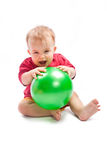 balowy dziecko Fotografia Royalty Free