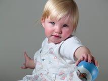 balowy dziecko daje Fotografia Stock