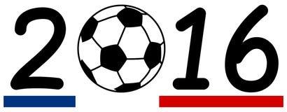 Balowy futbol 2016 Obrazy Royalty Free