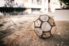 balowy futbolowy ilustracyjny odosobniony piłki nożnej sporta wektor Zdjęcie Stock