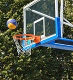 balowy koszykówki obręcza ilustraci wektor Zdjęcie Royalty Free