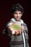balowy krystaliczny fortuneteller obrazy royalty free