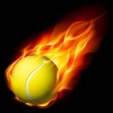 balowy płomienny tenis Zdjęcia Royalty Free