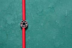 Balowy peleng Na zieleni Zdjęcie Stock