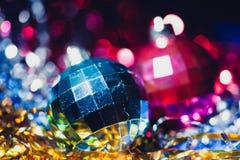balowy piłek bożych narodzeń ornamentu xmas Zdjęcia Royalty Free