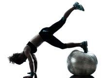 balowy target2062_0_ sprawności fizycznej kobiety trening Zdjęcie Royalty Free