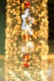balowych bożych narodzeń jarzeniowa świateł gwiazda Fotografia Royalty Free