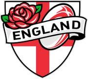 balowych England anglików różany rugby ilustracja wektor