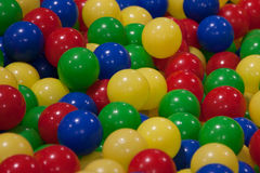 Bals of plastich Royalty Free Stock Photos
