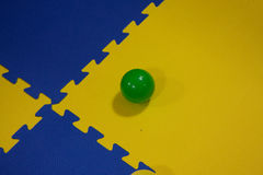 Bals of plastich Stock Images