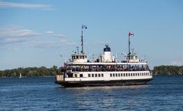 Balsa das ilhas de Toronto Fotos de Stock Royalty Free