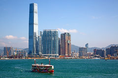 Balsa de Hong Kong Fotos de Stock