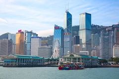 Balsa de Hong Kong Fotografia de Stock Royalty Free