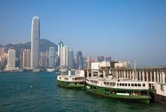 Balsa de Hong Kong Imagens de Stock Royalty Free