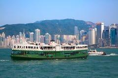 Balsa de Hong Kong Foto de Stock Royalty Free