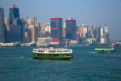 Balsa de Hong Kong Fotografia de Stock
