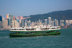 Balsa de Hong Kong Imagem de Stock Royalty Free