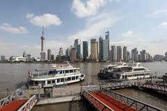 Balsa em Shanghai, China fotos de stock
