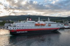 Balsa pequena em Noruega Foto de Stock