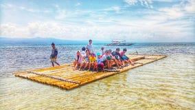 Balsa sea royalty free stock photo