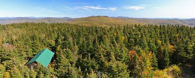 Balsam Lake Mountain Panorama Stock Photos