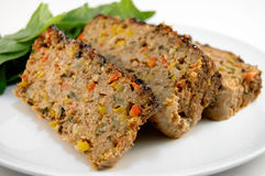 Balsamic Glazed Meatloaf Royalty Free Stock Images