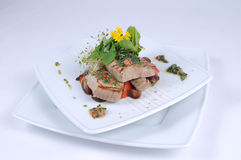 balsamic grillowany cebula tuńczyka Zdjęcie Royalty Free