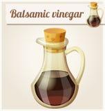 Balsamic vinegar. Detailed Vector Icon Royalty Free Stock Photos