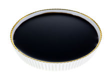 Balsamic Vinegar In Dish Royalty Free Stock Photography