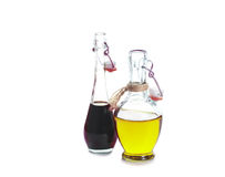 Balsamic vinegar and olive oil royalty free stock photography