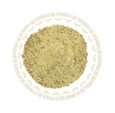 Balsamic Vinegar Seasoning In A Glass Bowl Top View Royalty Free Stock Images