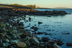 Balscadden海湾 Howth 爱尔兰 库存照片