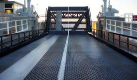 Balsee el embarcadero en Tobermorey, Ontario, Canadá Imágenes de archivo libres de regalías