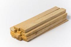 Balsowy drewno Fotografia Stock