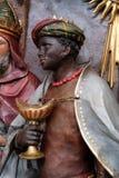 Baltasar, unos de los reyes magos bíblicos Imagenes de archivo
